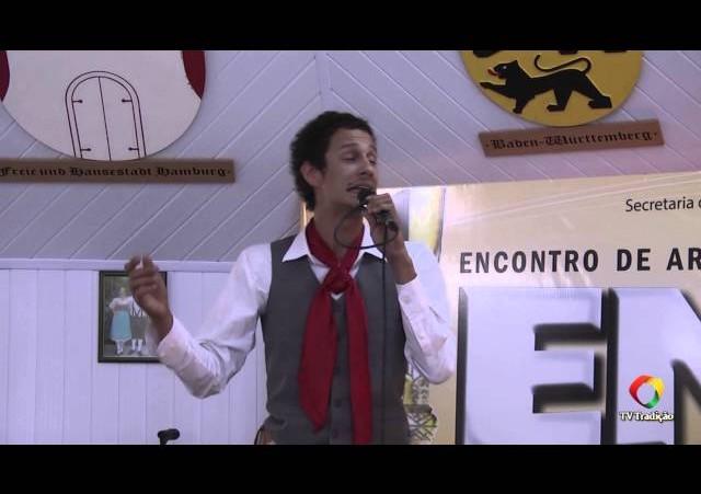 ENART 2014 - Lucca Adams Pilla - Intérprete Solista Vocal Masculino - Sábado