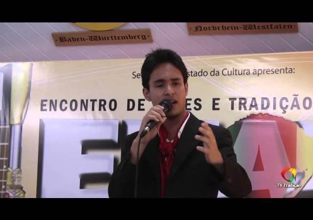 ENART 2014 - Kristopher Pires da Silva - Intérprete Solista Vocal Masculino - Sábado