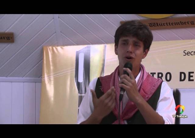 ENART 2014 - Kayo Silva Lopes - Intérprete Solista Vocal Masculino - Sábado
