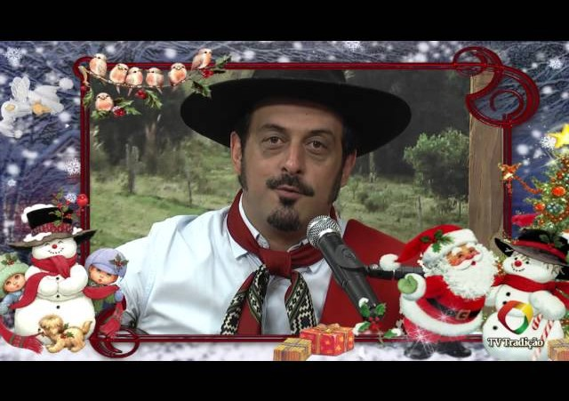 Mensagem de Natal do Cristiano Quevedo - TV Tradição - 2014