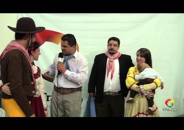 ENART 2014 - Entrevista: CTG Carreteiros do Sul - Força A - Sábado