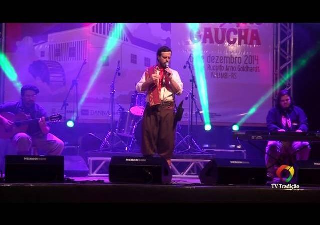 4º Moinho da Canção Gaúcha - Quando o amor dá sentido pro meu verso - Cristiano Fantinel