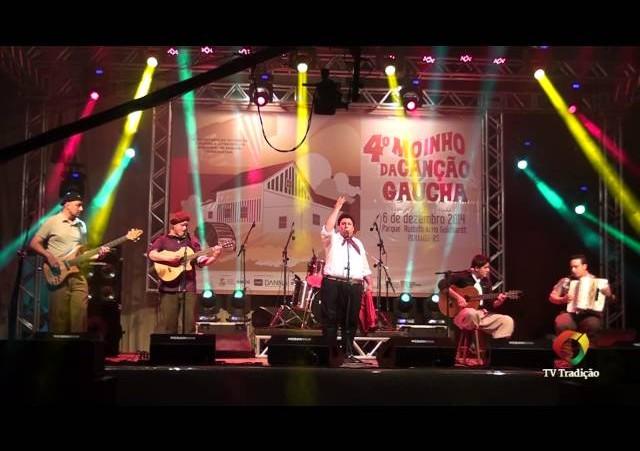 4º Moinho da Canção Gaúcha - Meu cantar é missioneiro - Armando Maicá e Grupo