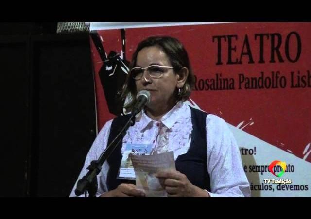 63º Congresso Tradicionalista Gaúcho - Período de Comunicações - Delurdes Costa
