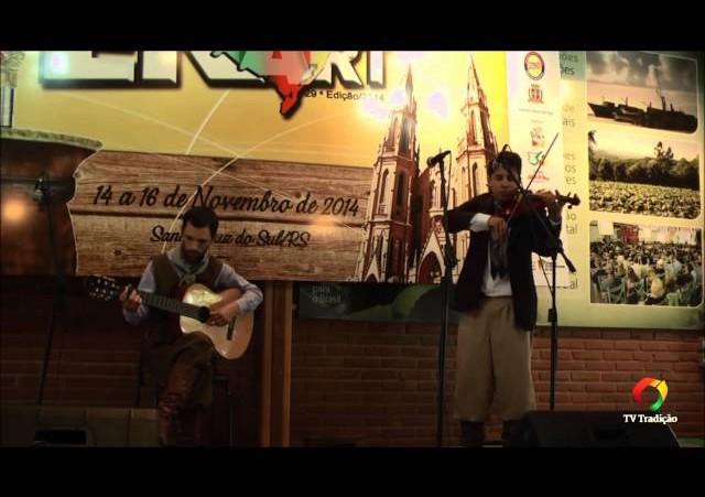 ENART 2014 - Gesiel Carvalho da Cruz - Violino ou Rabeca