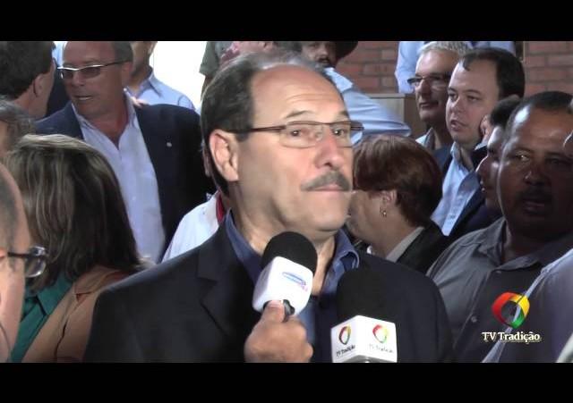 Festa Nacional do Churrasco - Entrevista com o Governador do RS