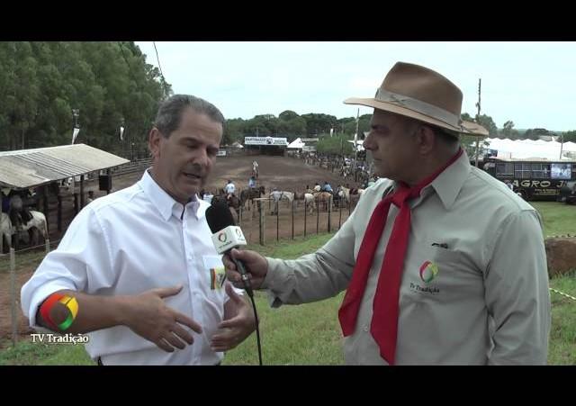 Festa Nacional do Churrasco - Entrevista com o Prefeito Alceu Barbosa Velho