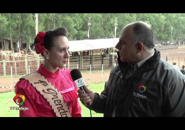 Festa Nacional do Churrasco - Entrevista com a 1ª Prenda do CTG Alexandre Pato