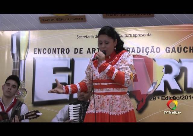 ENART 2014 - Luciana Diatel Laubinz Vieira - Intérprete Solista Vocal Feminino - Sábado