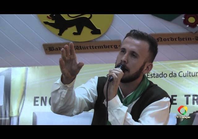 ENART 2014 - Ranieri Zílio Moriggi - Intérprete Solista Vocal Masculino - Domingo
