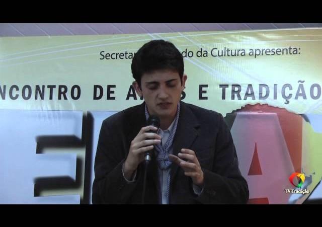 ENART 2014 - Henrique Vargas - Intérprete Solista Vocal Masculino - Domingo