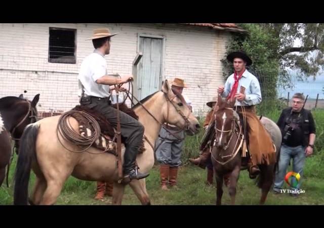 Homenagem aos Peões e Guris Farroupilhas 2014/2015 - TV Tradição