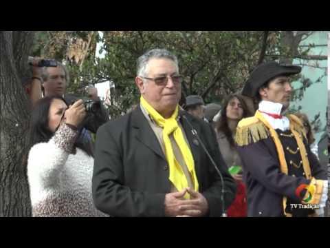 Acendimento da chama crioula 2015