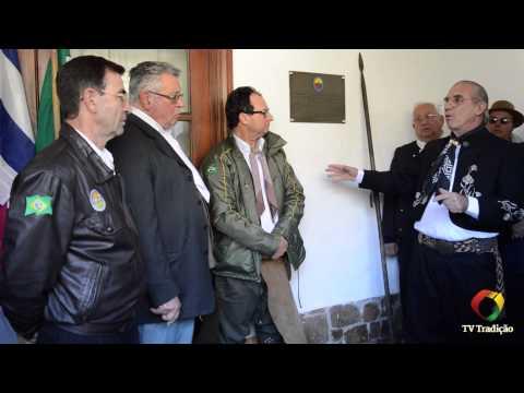 Chegada da Chama Crioula na Sociedad Criolla Dr. Elías Regules