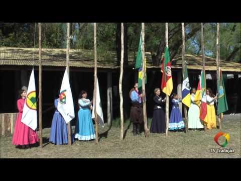Hasteamento das Bandeiras - Festejos Farroupilhas de Porto Alegre 2015