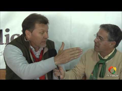 Entrevista com o Dep.  Federal Afonso Hamm - Festejos Farroupilhas de Porto Alegre 2015