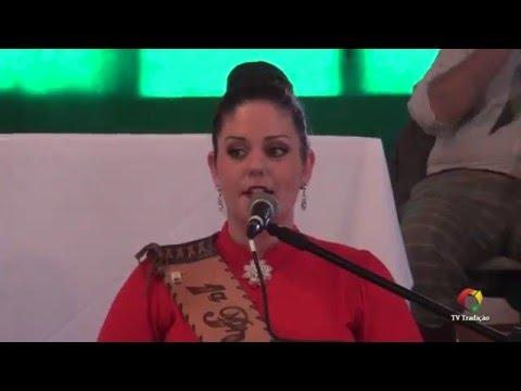 64º Congresso Tradicionalista Gaúcho - Comunicação - Prenda Dirlene