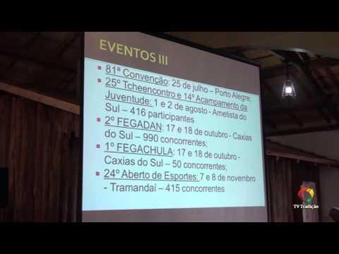 64º Congresso Tradicionalista Gaúcho - Prestação de Contas