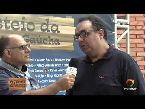 2º Esteio da Poesia - Entrevista: Pedro Junior e Mário Tressoldi