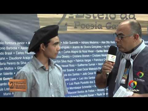 2º Esteio da Poesia Gaúcha - Entrevista: Gustavo Oliveira