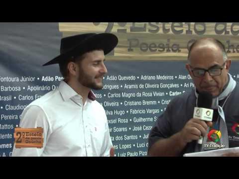 2º Esteio da Poesia Gaúcha - Entrevista: Neiton Perufo