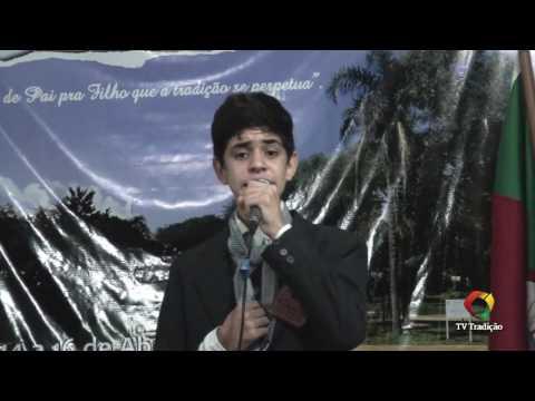 Julio Cezar Zamin - 20ªRT - Guri - Prova oral e artística - 28º Entrevero Cultural de Peões