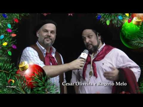 Mensagem de Natal - Cesar Oliveira e Rogério Melo