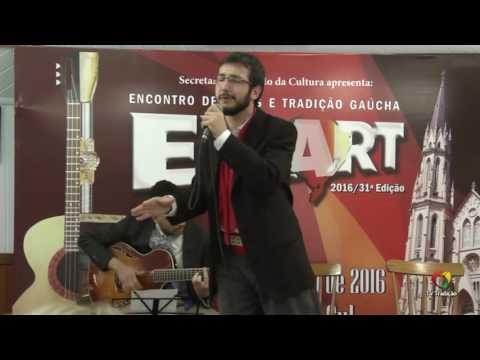 LUCAS CONTINI - ENART 2016 - INTÉRPRETE SOLISTA VOCAL MASCULINO - SÁBADO
