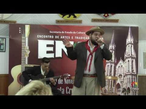 OSMAR SOSTISSO JUNIOR - ENART 2016 - INTÉRPRETE SOLISTA VOCAL MASCULINO - SÁBADO