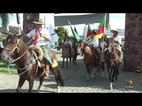 Chegada da Chama Crioula - 65º Congresso Tradicionalista Gaúcho - Sexta