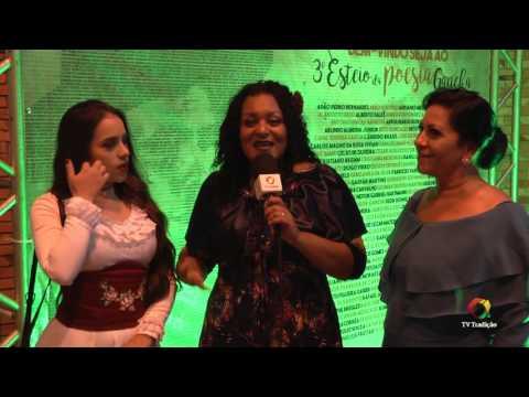 3º Esteio da Poesia Gaúcha - Entrevista: Andrea Eloi e Thais Weber