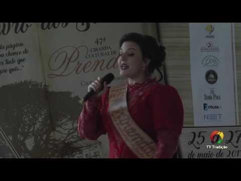 Ana Júlia Griguol - 47ª Ciranda Cultural de Prendas - Provas Oral e Artística