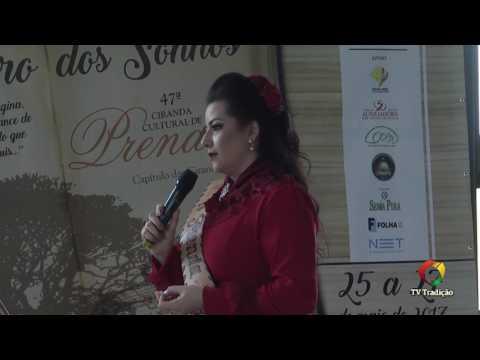 Diellen Teixeira Godoi Soares - - 47ª Ciranda Cultural de Prendas - Provas Oral e Artística