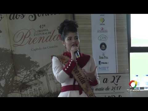 Bruna Joelma Assunção - 20ªRT - 47ª Ciranda Cultural de Prendas - Provas Oral e Artística