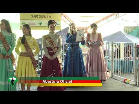 Abertura Oficial - Festival de Danças Tradicionais do CTG Campo dos Bugres