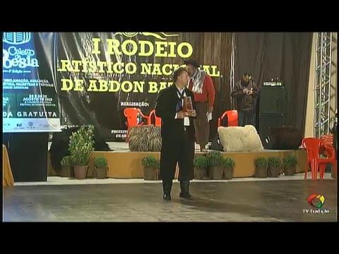 AO VIVO - 1º Rodeio Artístico Nacional de Abdon Batista - Sábado