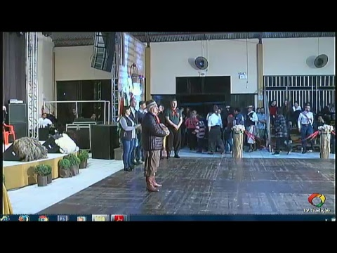 AO VIVO - 1º Rodeio Artístico Nacional de Abdon Batista - Domingo