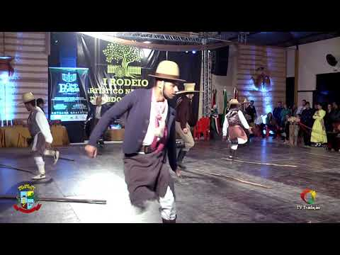 CTG Estancieiros do Laço - Danças Birivas - 1º Rodeio de Abdon Batista - Sábado
