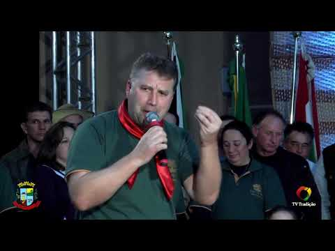 Foto e discurso - 1º Rodeio de Abdon Batista - Domingo