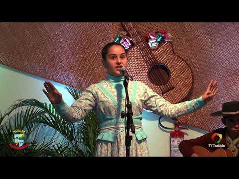 Giovana de Lima de Souza - Mirim - II Celeiro da Poesia Gaúcha - Domingo