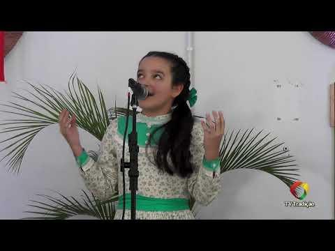 Isabela Dutra de Sousa - Declamação - II Rodeio Artístico Nacional de Abdon Batista