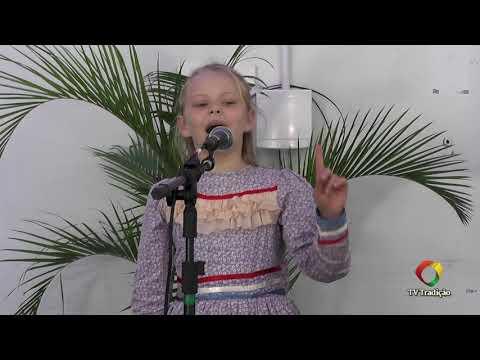 Luiza Hahn Schu - Declamação - II Rodeio Artístico Nacional de Abdon Batista