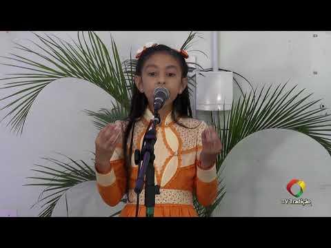 Bibiana Eulalia Stringhi Padilha - Declamação - II Rodeio Artístico Nacional de Abdon Batista