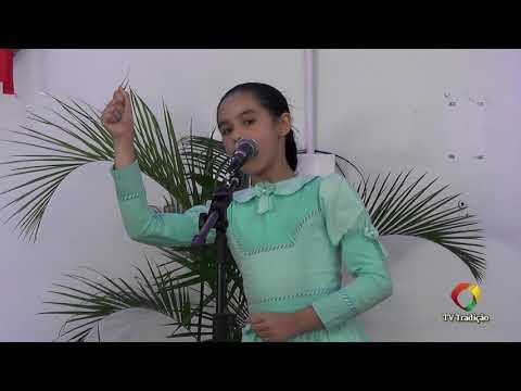 Maria Eduarda Toneto da Silva - Declamação - II Rodeio Artístico Nacional de Abdon Batista