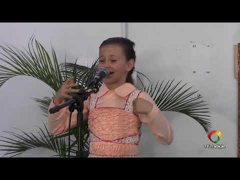 Clara Beatriz Demeneck - Declamação - II Rodeio Artístico Nacional de Abdon Batista
