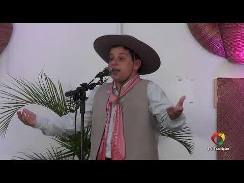 Vitor Gasperin - Declamação - II Rodeio Artístico Nacional de Abdon Batista