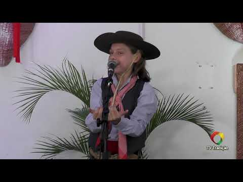 João Pedro Simonatto - Declamação - II Rodeio Artístico Nacional de Abdon Batista