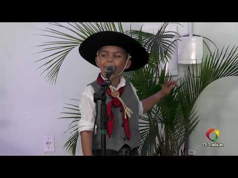 Arthur Castilhos Ramos Senem - Declamação - II Rodeio Artístico Nacional de Abdon Batista