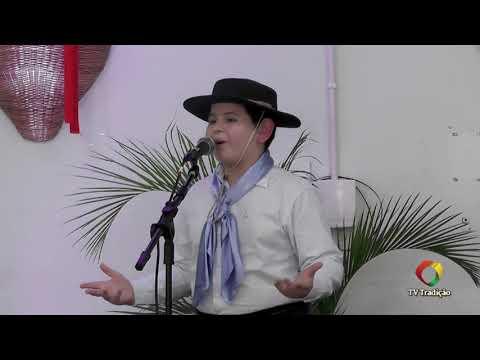 João Pedro Severo da Silva - Declamação - II Rodeio Artístico Nacional de Abdon Batista