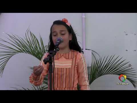 Livia Castilhos da Silva - Declamação - II Rodeio Artístico Nacional de Abdon Batista